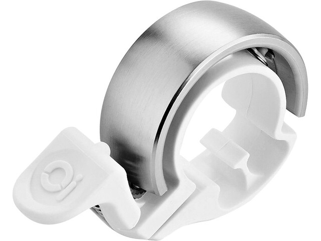 Knog Oi Classic Ringklocka Limited Edition vit/silver